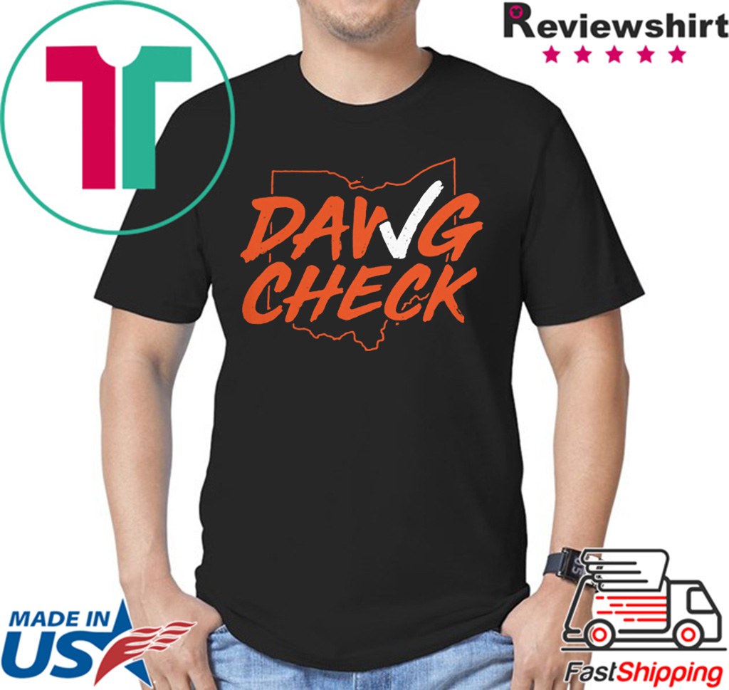 Dawg Check Shirt - Cleveland Brown - OBJ