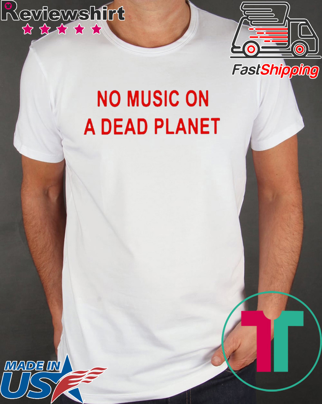 No Music On A Dead Planet Shirts