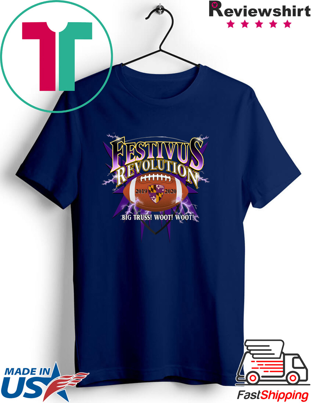 Baltimore Ravens Playoff Festivus Shirt