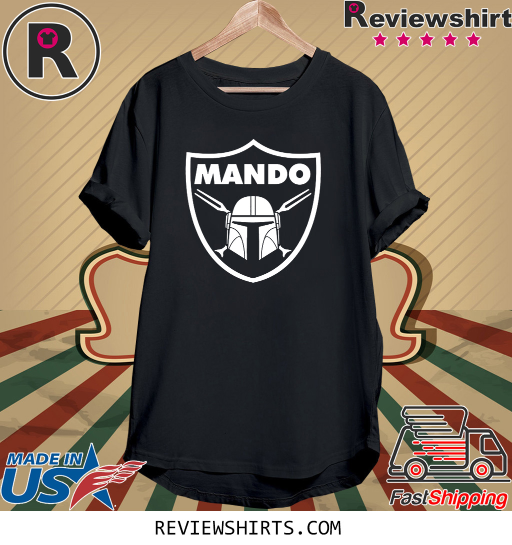 MANDO BOUNTY HUNTER RAID T-SHIRT