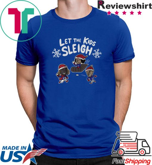 Toronto Baseball Let The Kids Sleigh Shirt