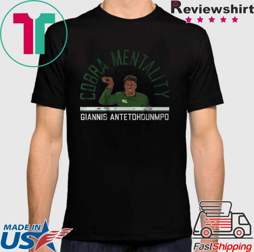 Giannis Cobra Mentality Milwaukee - NBPA Licensed Shirt