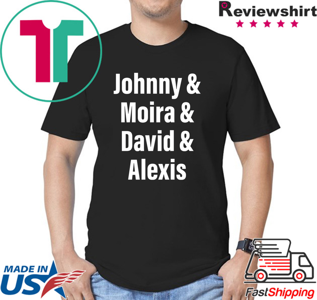 Johnny Moira David Alexis Shirt