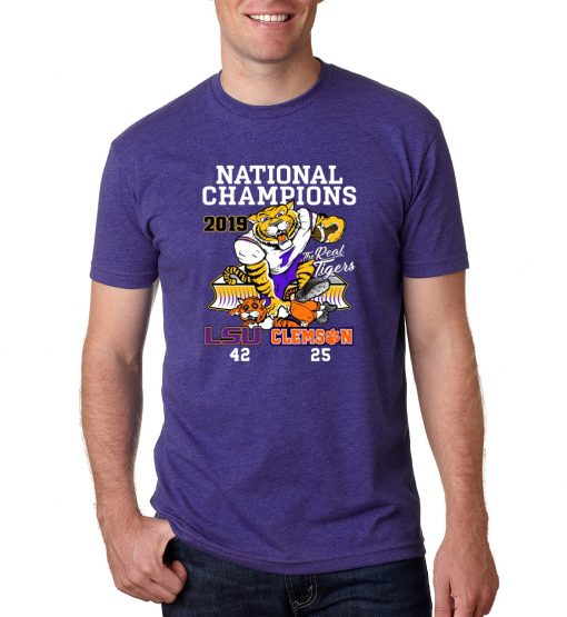 LSU Tigers College Football Playoff 2019 National Champions Shirt