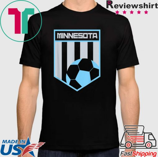 Minnesota Soccer Jersey Style Football Shirt