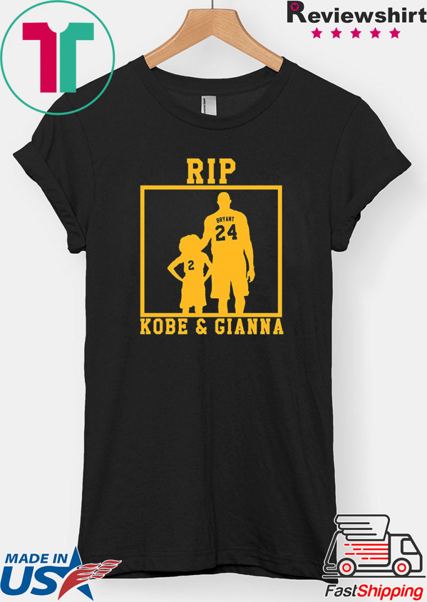 Rip Kobe and Gianna Shirt