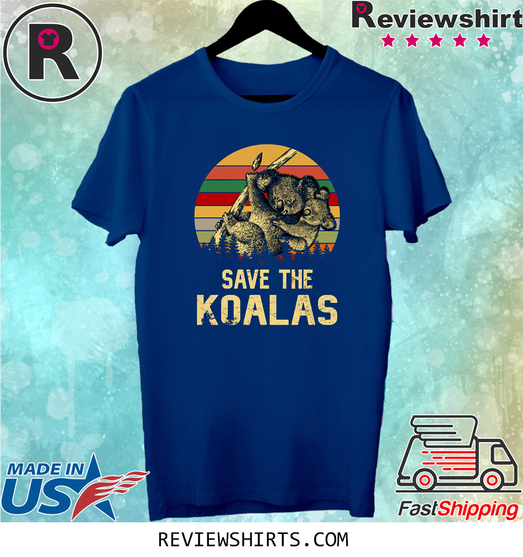 Save the Koala Vintage Shirt