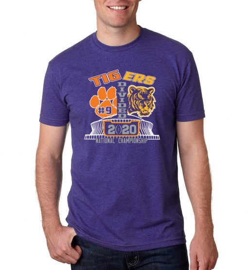 Tigers Divided 2020 T-Shirt