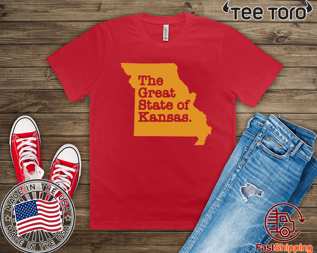 The Great State Of Kansas City Chiefs super bowl T-Shirt