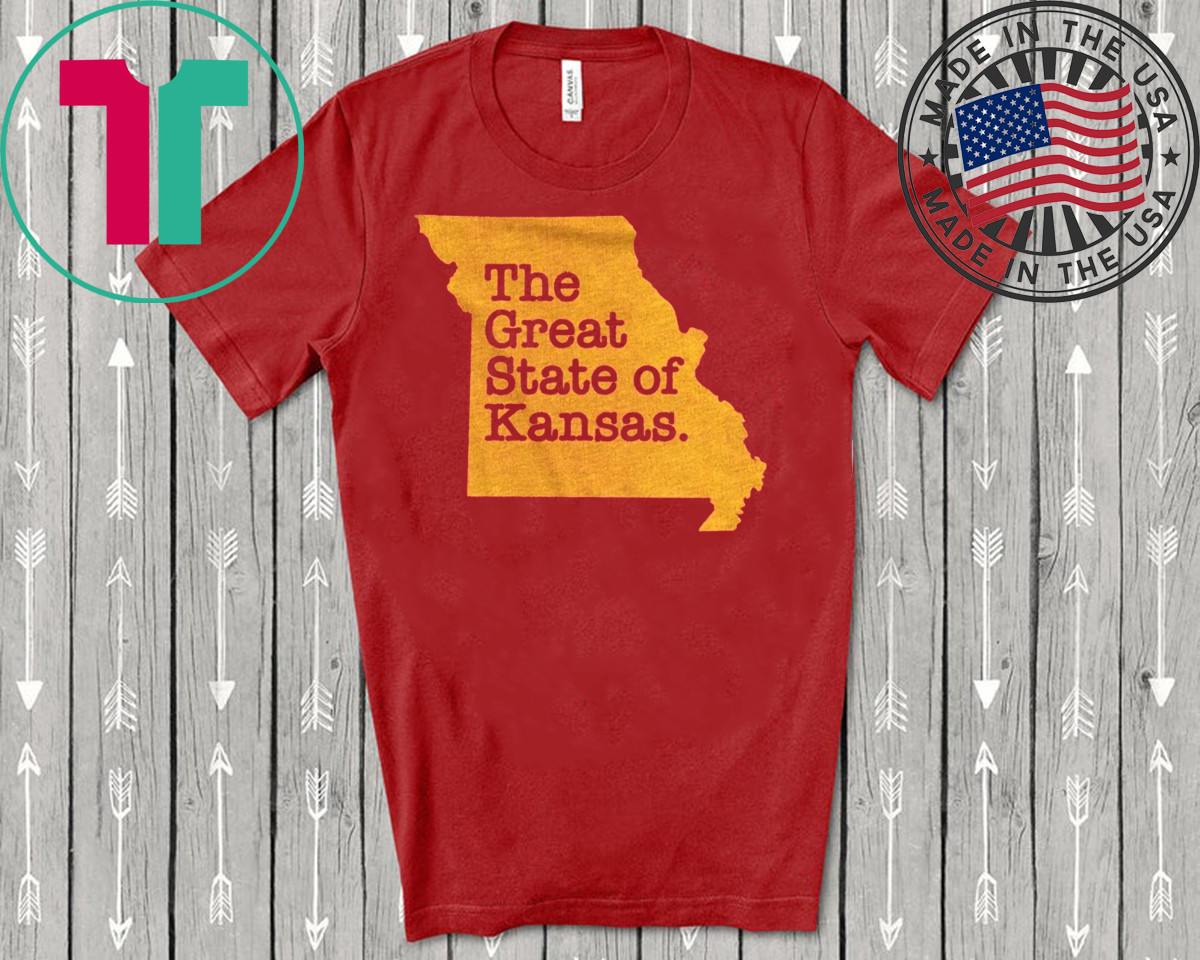 The Great State Of Kansas City Chiefs T-Shirt