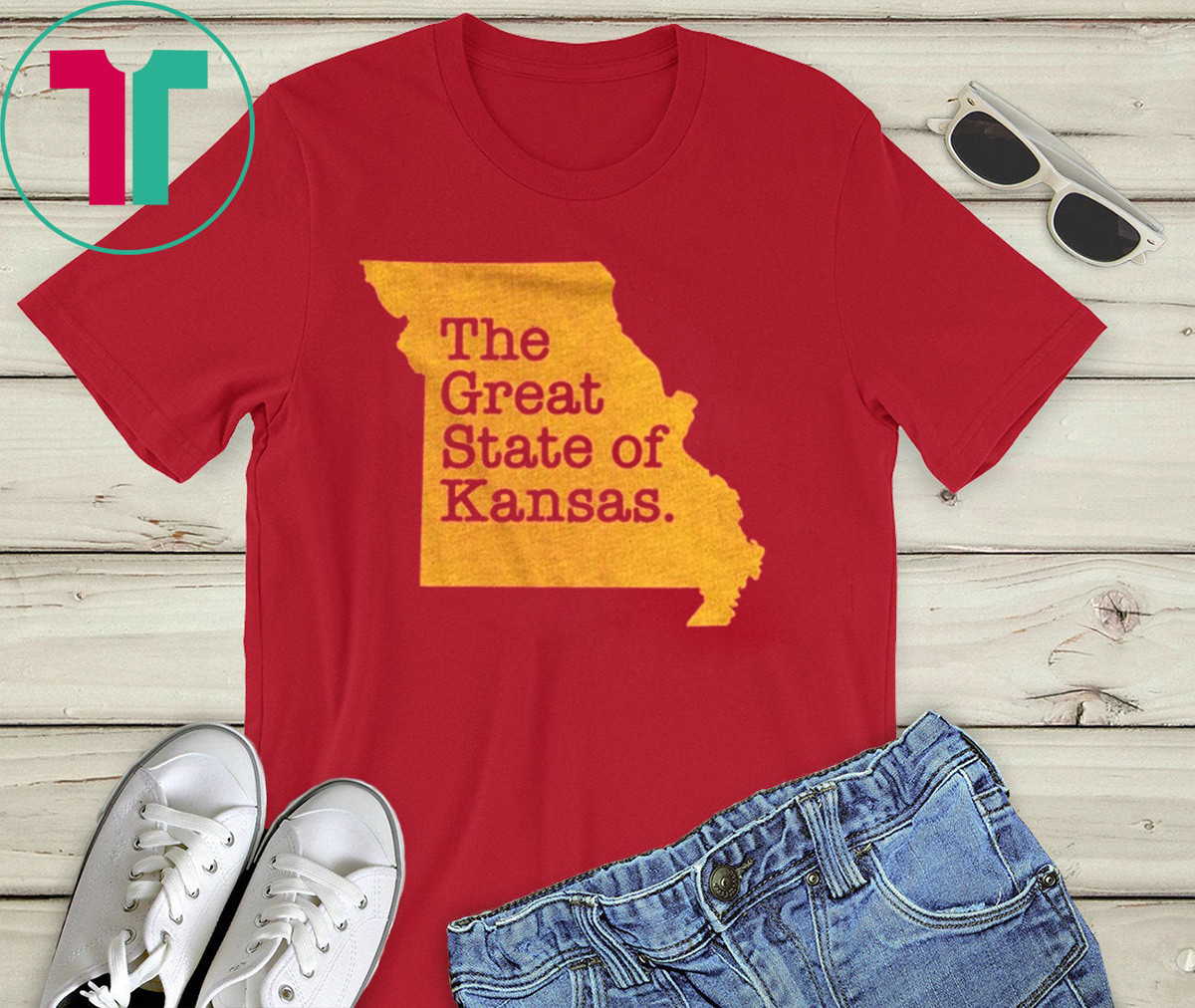 The Great State Of Kansas City Shirt