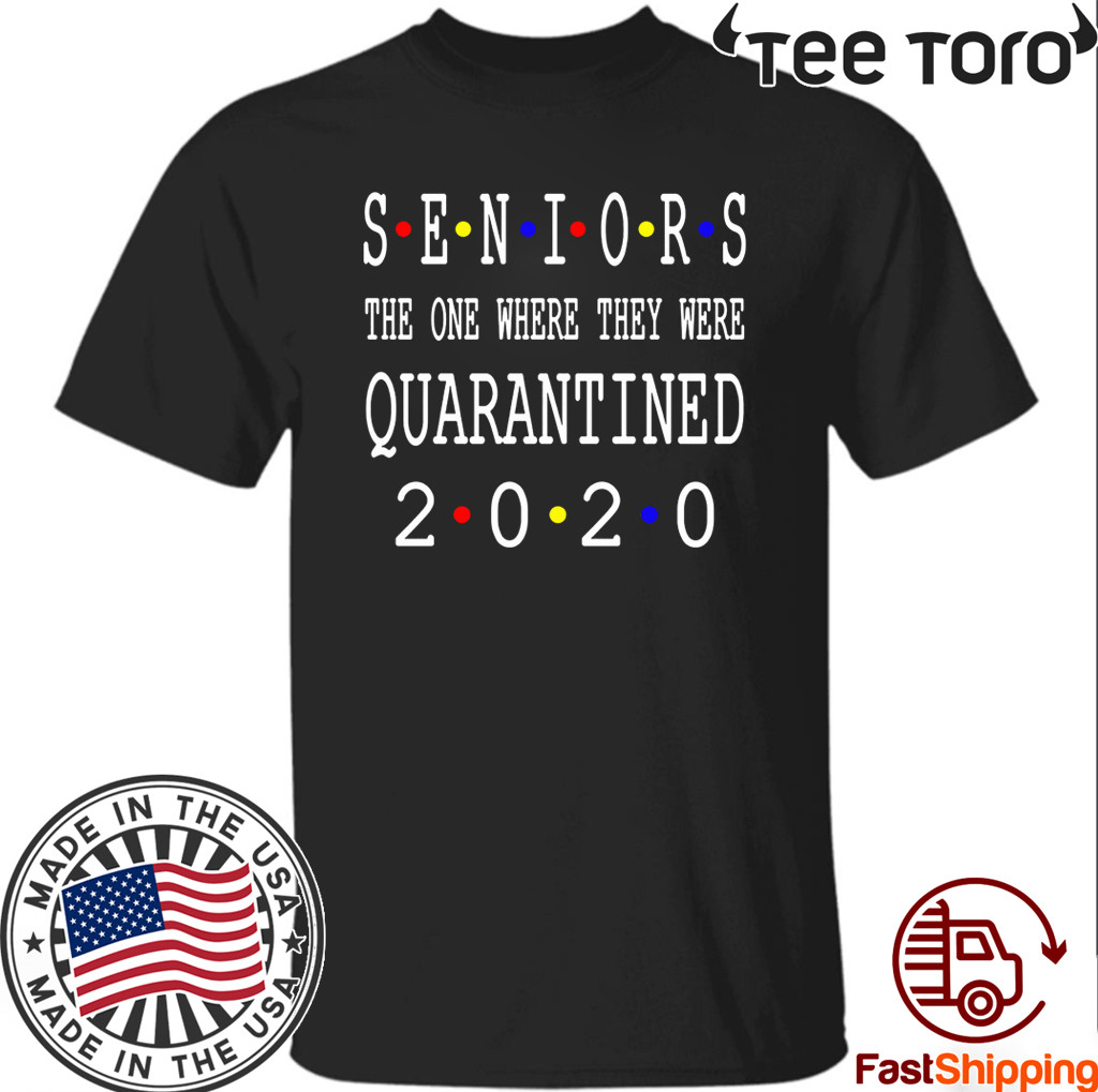 Class Of 2020 Graduation Senior Funny Quarantine Senior 2020 Shit Getting Real Shirts