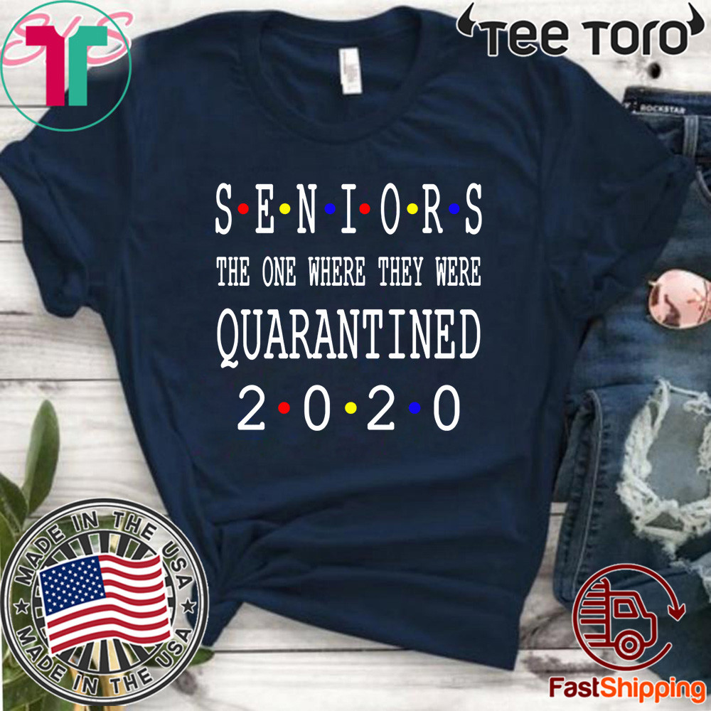 Senior 2020 Shit Getting Real - Class Of 2020 Graduation Senior Funny Quarantine Shirt