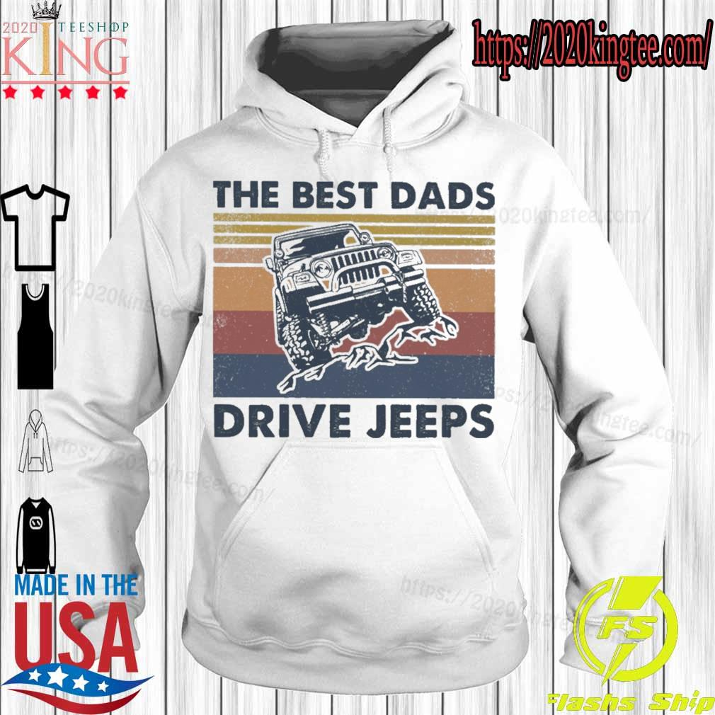 The best Dads Drive jeeps vintage s Hoodie
